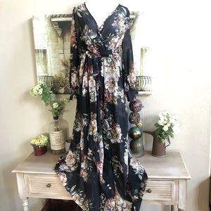 Xtaren floral maxi gorgeous dress